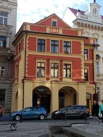 Дом «У трёх ступеней» (U tří stupňů), Фото: Екатерина Сташевская, Чешское радио - Радио Прага