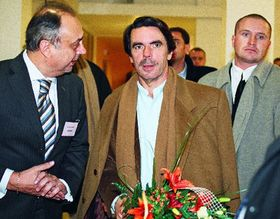 José María Aznar en Ostrava (Foto: CTK)