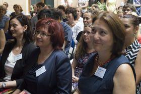 De izquierda: Lucie Šafarčíková, , Olga Vlachová y Jitka Morčusová, foto: Miloš Turek
