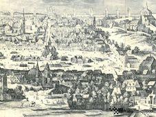 Карлова площадь в 1606 году, фото: Praha archeologická