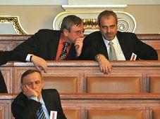 Jaromír Dušek (nahoře vlevo), foto: ČTK