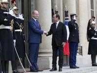 Bohuslav Sobotka et François Hollande, photo: ČTK