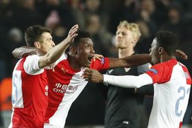 Slavia Praha - FC Sevilla, photo: ČTK/AP/Petr David Josek