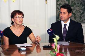 Alena Hanáková et Vladimír Lekeš