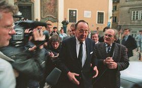 Hans-Dietrich Genscher, 1989, foto: ČTK