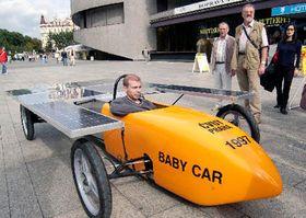 Baby solar car, photo: CTK