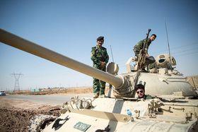Kurdish soldiers, photo: Boris Niehaus, CC BY-SA 3.0