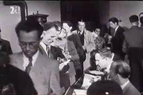 Выборы, Чехословакия, 1946г., Фото: ЧТ