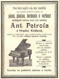 Реклама продукции компании времен Австро-Венгрии