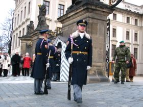 Prague Castle guard, photo: Kristýna Maková