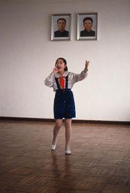 Северокорейская школьница Зин Ми, Фото: kviff
