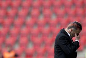 Karel Krejčí, el técnico de FC Pilsen, foto: ČTK