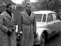Jiri Hanzelka und Miroslav Zikmund mit Tatra 87