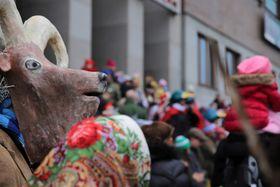 El carnaval en la Planicie de Letná, foto: Archivo del Museo de Agricultura de Praga