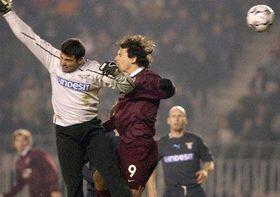 Marek Kincl marca el único gol en el último minuto del partido, foto: CTK