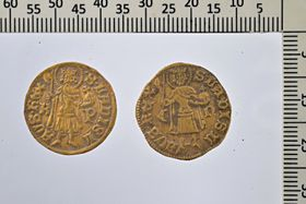 Golden Hungarian ducats, photo: J. Bumerl / Museum of Podblanicko