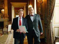 Bernard Kouchner, Karel Schwarzenberg (right), photo: CTK