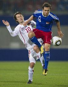 Le capitaine Tomáš Rosický est la pièce maîtresse du jeu des Tchèques, photo: CTK