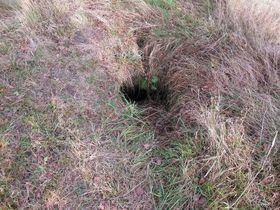 """""""Versteckter"""" Eintritt in den Bunker (Foto: Naďa Reviláková, Tschechischer Rundfunk)"""