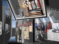 Visualisierung der neuen Dauerausstellung (Foto: Archiv des Nationalmuseums in Prag)