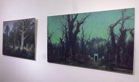 Výstava Tomáše Honze vGalerii 9, foto: Miroslav Krupička