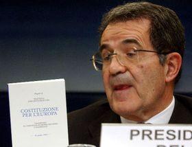 Presidente de la Comisión Europea Romano Prodi, foto: CTK