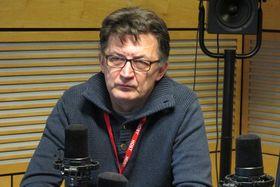 Рустем Адагамов в студии Радио Прага (Фото: Кристина Макова, Чешское радио - Радио Прага)