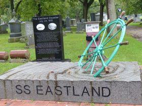 Pomník obětem potopení parníku Eastland, foto: Klára Stejskalová