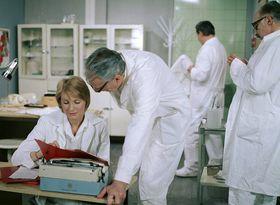 Снимок из сериала «Больница наокраине города», Фото: Архив ЧТ