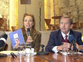 Dagmar Havlová y Václav Havel (Foto: CTK)