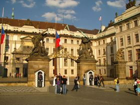 Prague Castle, photo: Kristýna Maková