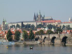 Castillo de Praga de hoy