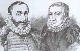 Petr Vok and Katerina of Ludanice