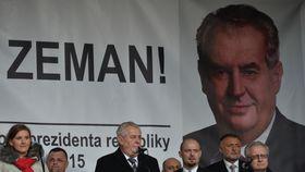 Милош Земан во время выступления, Фото: ЧТК