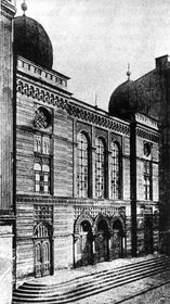 Former synagogue in Ostrava, photo: Public Domain