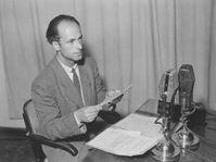 Announcer Zdenek Mancal