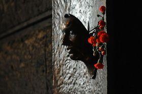 La plastique commémorative de Jan Palach, photo: Filip Jandourek, ČRo