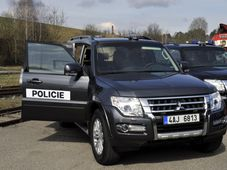 Pyrotechnics experts and local police branch received new armoured vehicles, photo: CTK