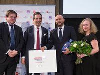 Les prix CCFT pour Grupe SEB, photo: Chambre de commerce franco-tchèque