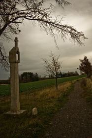 Crosses and milestones by old Czech roads, photo: Vít Pohanka / Czech Radio