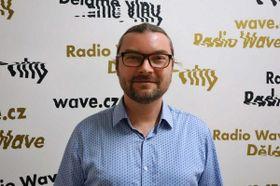 Martin Hříbek, photo: Dominik Čejka / Czech Radio