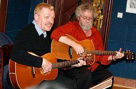Miroslav Palecek y Michael Janík (Foto: CTK)