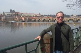 David Howard in Prague, photo: Fabian W. Williges, CC BY-SA 4.0