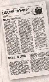 Lidové noviny in 1988