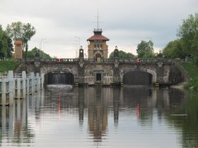 Vraňany – Hořín lock, photo: Czech Radio - Radio Prague
