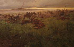 Schlachtfeld - bitevní pole