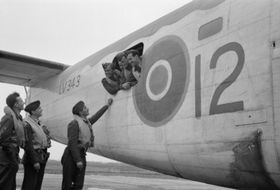 Czechoslovak aviators in RAF, photo: Public Domain