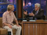 Jakub Vágner in Jay Leno's The Tonight Show, photo: www.nbc.com