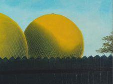 Kamil Lhoták, 'Los globos en la valla', 1940, foto: Retro Gallery / Obecní dům