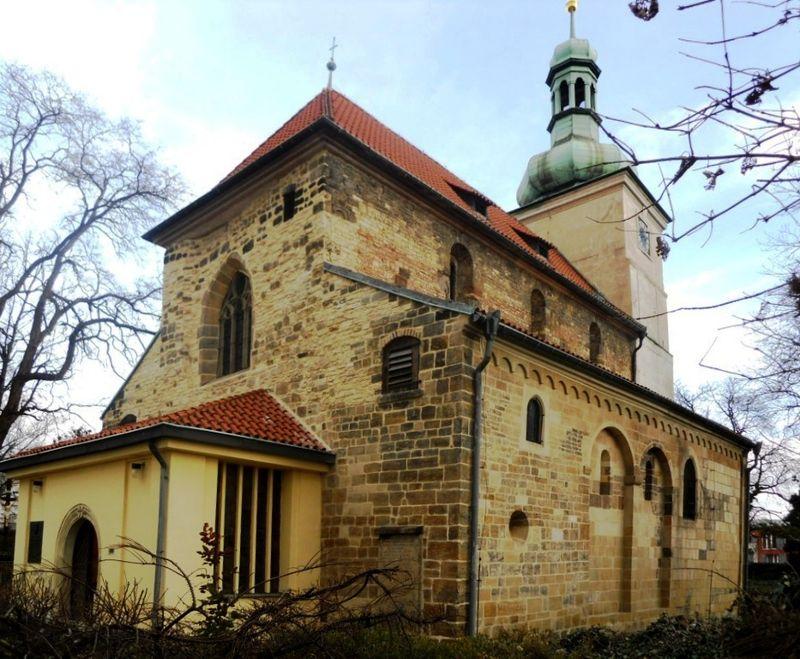La Iglesia de San Venceslao en Prosek, foto: Sokoljan / CC BY-SA 3.0